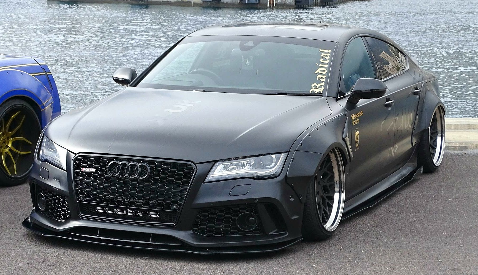 Insane Audi A7 3 0 TDI Widebody with a LOUD Exhaust!
