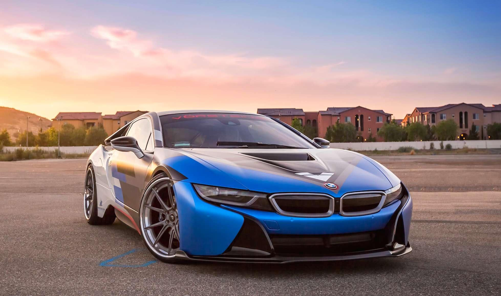 2016 Vorsteiner BMW I8 Is Ready For GoldRush Rally