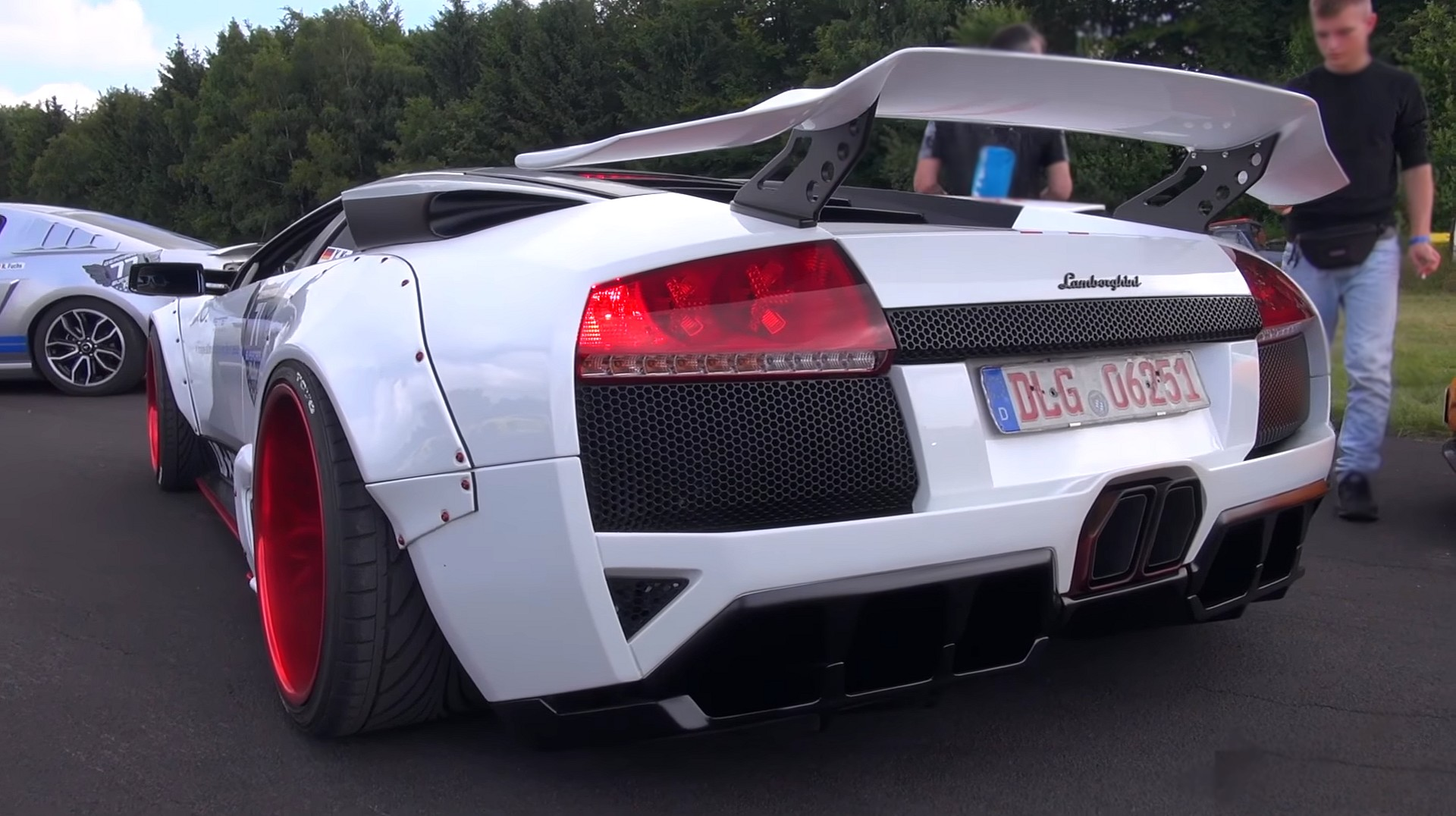 Libertywalk Lb R Limited Lamborghini Murcielago In Action